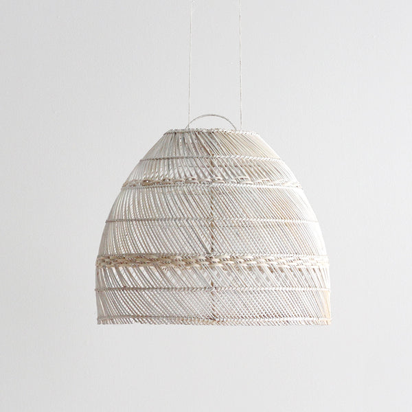Palma Rattan Shade - Whitewash