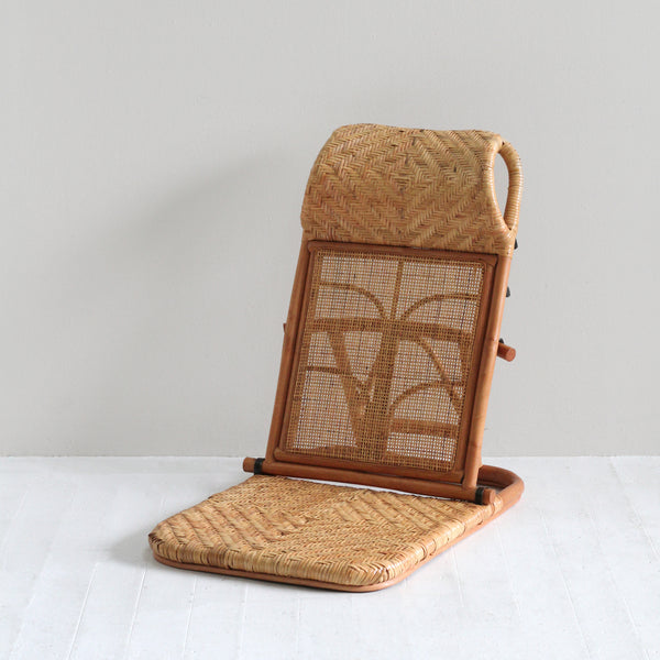 Paradise Rattan Beach Chair - Natural