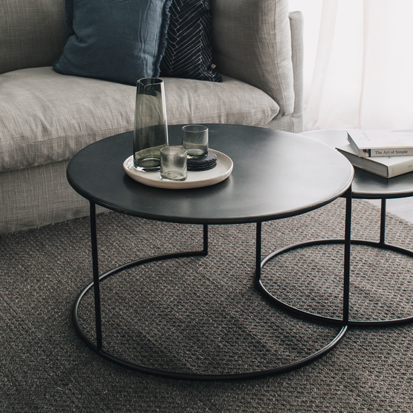 Philip Iron Low Coffee Tables