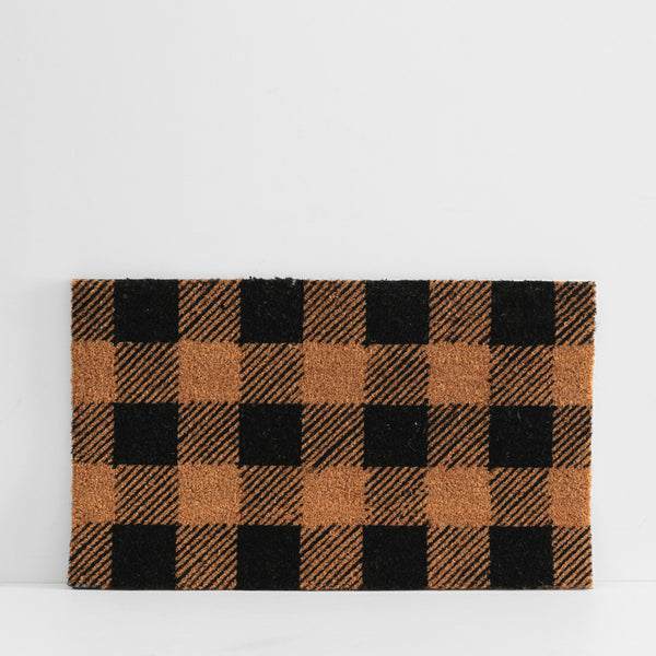 Doormat - Plaid