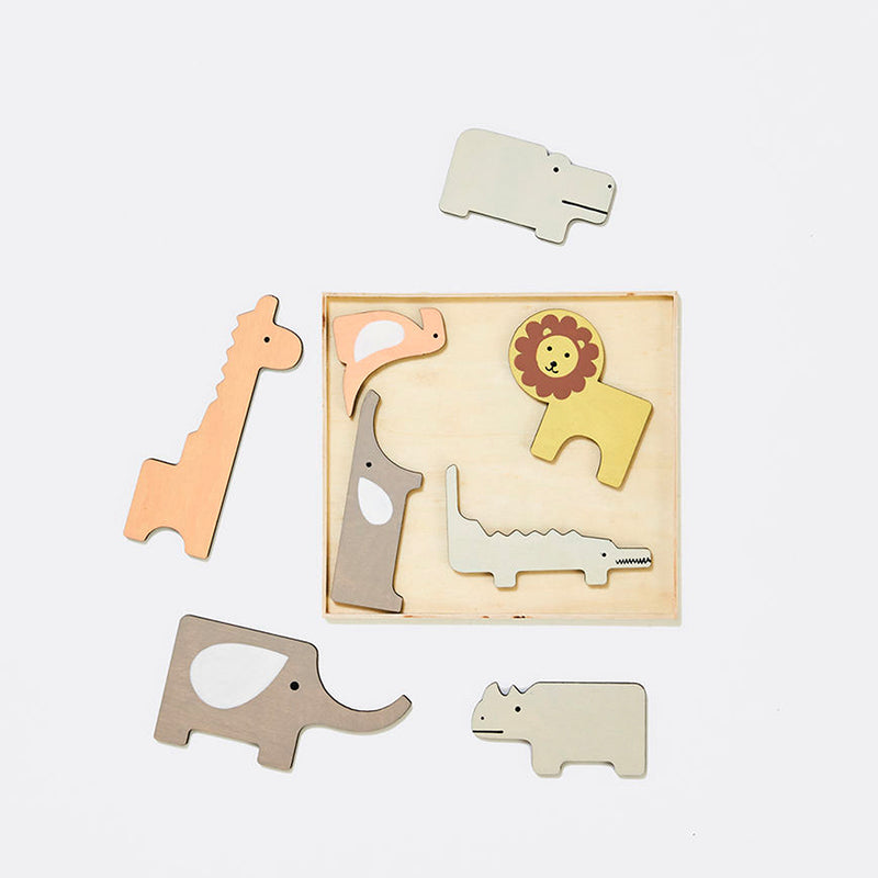 Playtime wooden animal puzzle