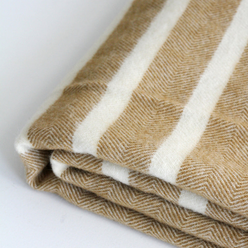 Raglan Throw - Caramel