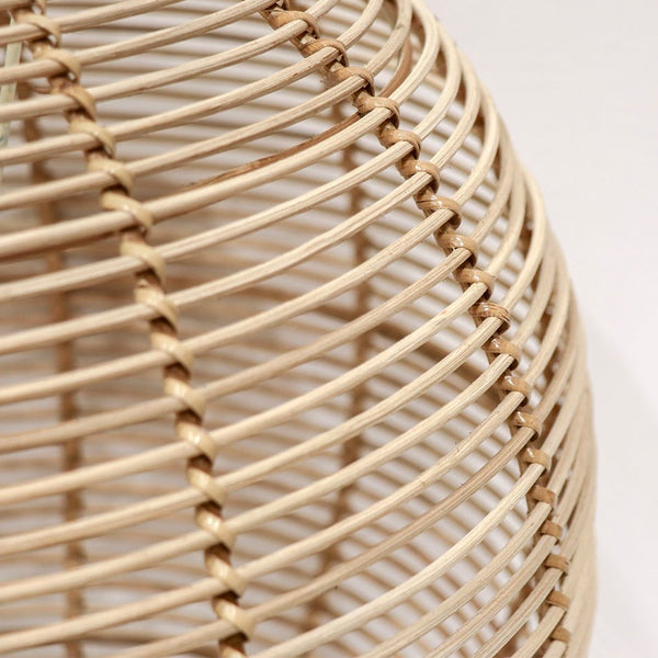 Rattan Globe Pendant Natural - Small