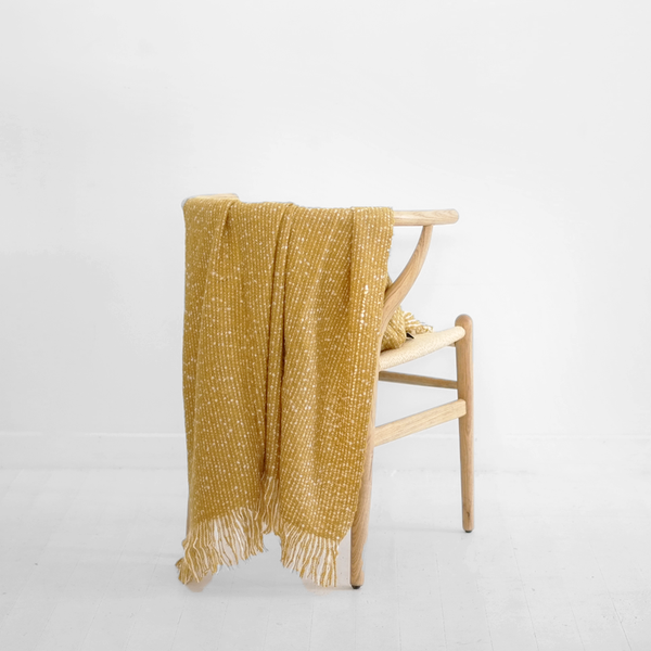 Repose Throw Ochre