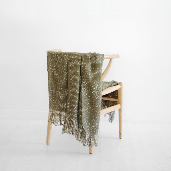 Repose Throw Olive