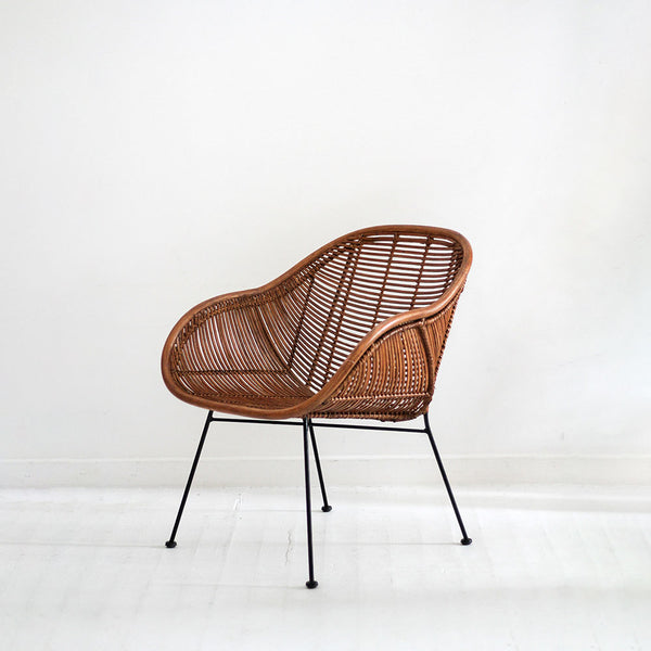 Retro Armchair - Honey