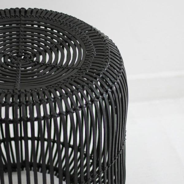 Retro Stool - Black