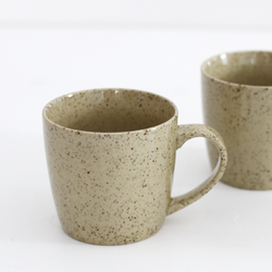 Ceramic Mug (Set of 4) - Green Pepper