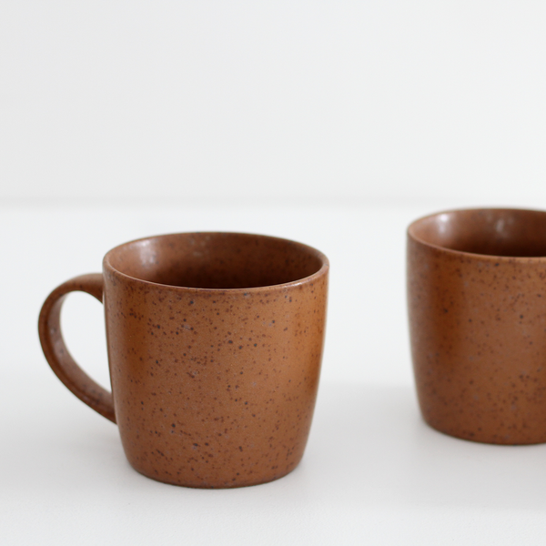 Ceramic Mug (Set of 4) - Rust