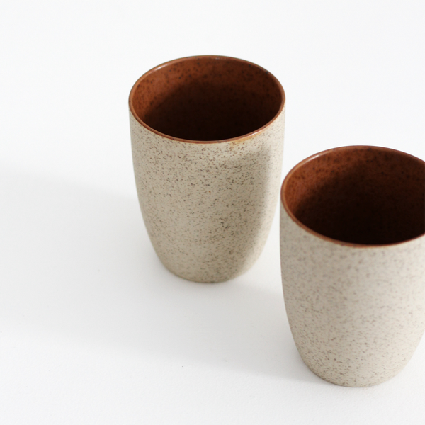 Latte Tumbler - Rust (Set of 2)