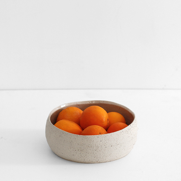 Pebble Bowl Natural - Medium