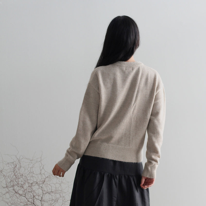 Rose Knit - Oat