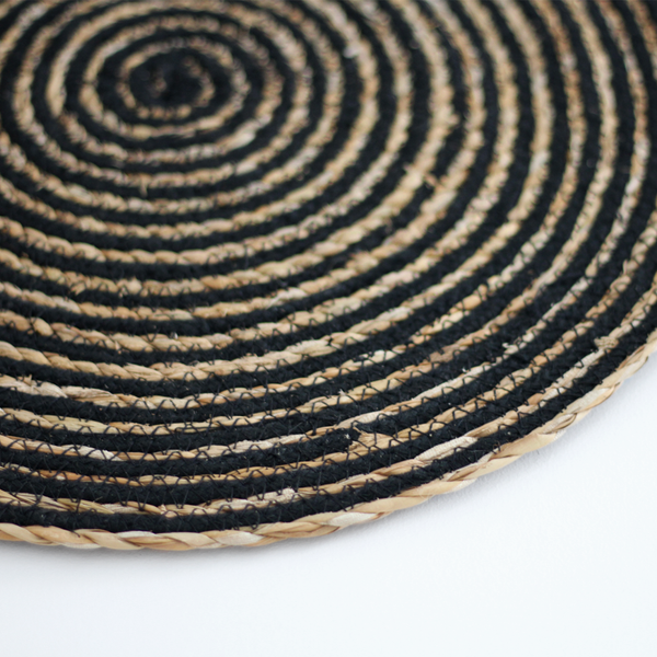 Round Placemat - Black