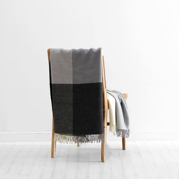 Roxburgh Throw - Charcoal