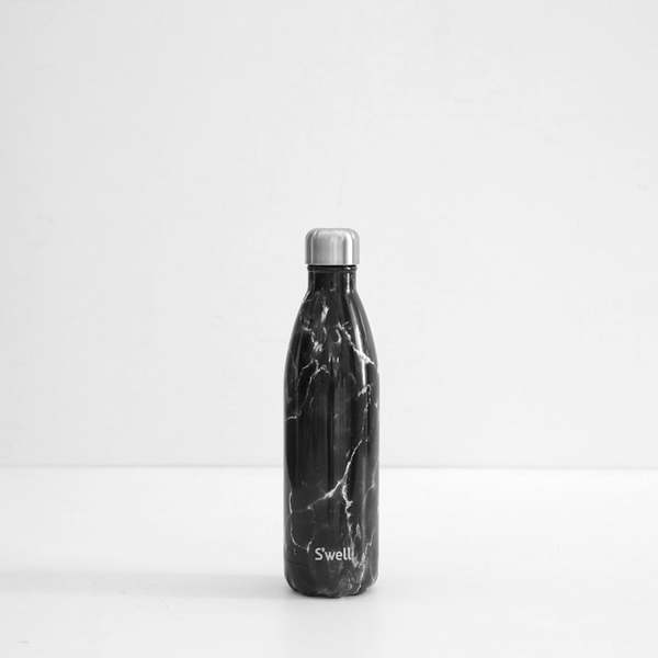 S'Well 500ml Stainless Steel Bottle - Black Marble