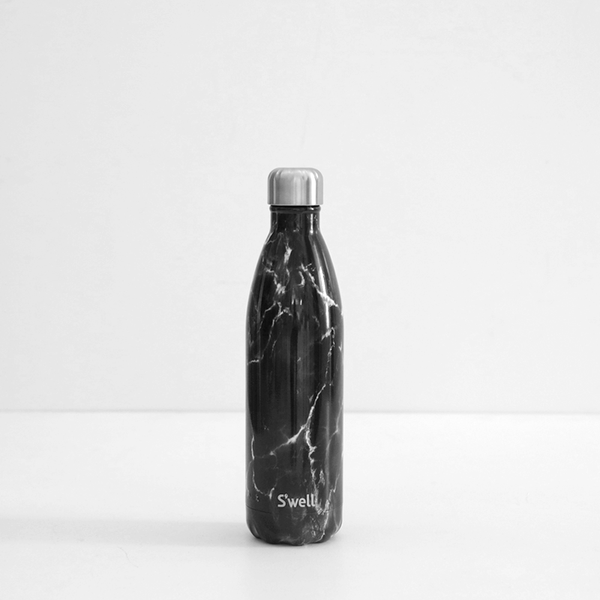 S'Well 750ml Stainless Steel Bottle - Black Marble