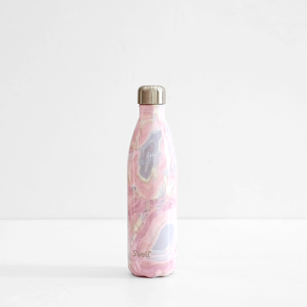 S'Well 750ml Stainless Steel Bottle - Geode Rose