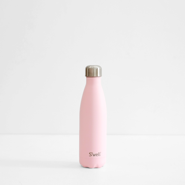 S'Well 500ml Stainless Steel Bottle - Pink Topaz