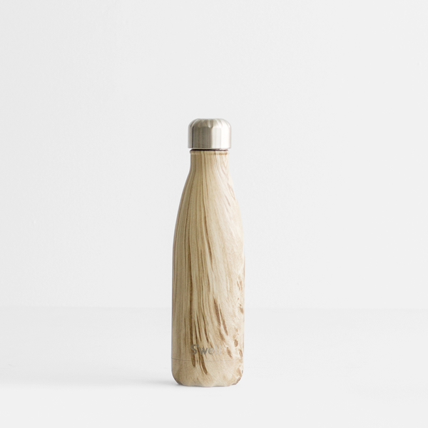 S'Well 750ml Stainless Steel Bottle - Blonde Wood
