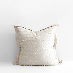 Shore Euro Cushion - Natural