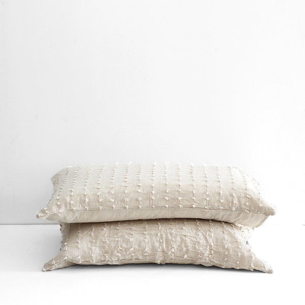 Shore Tufted Standard Pillowcase - set of 2