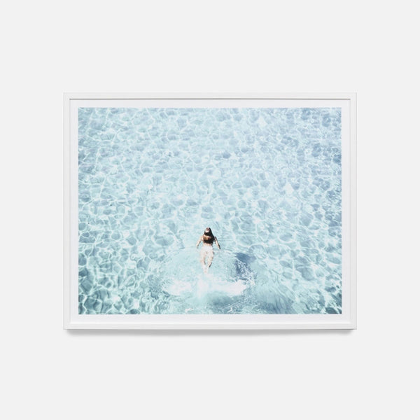 Salt Water Swim Framed Art