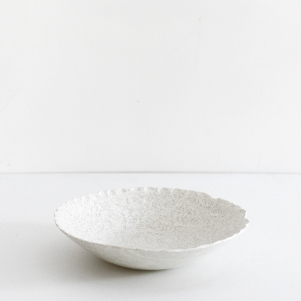 Sand Wide Salad Bowl
