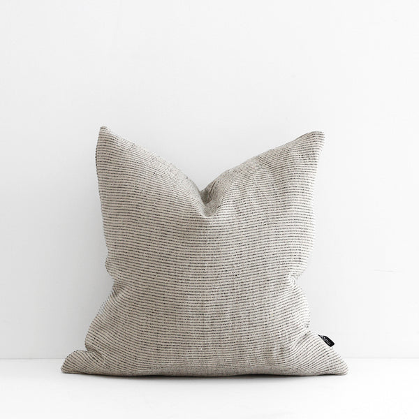 Sandridge Cushion - Linen/Black