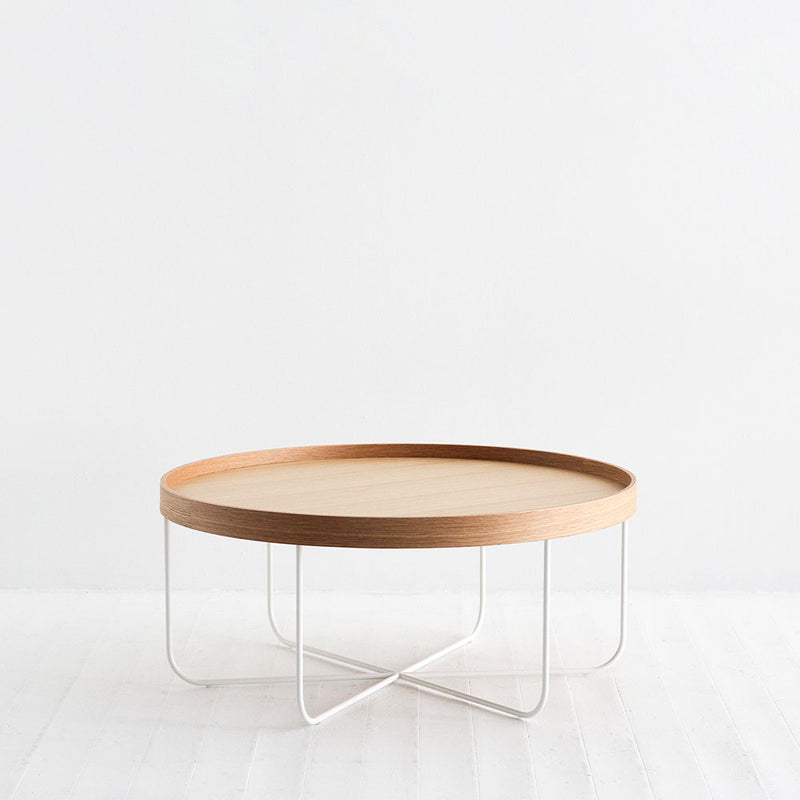Segment Coffee Table - Natural/White