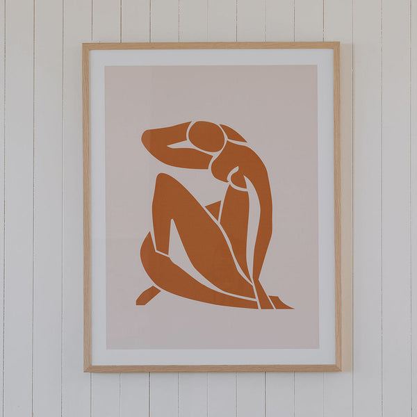 Henri Mattise Print by Honeymoon Hotel