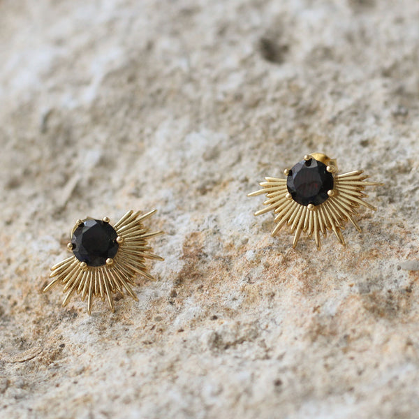 Solace Earrings - Gold