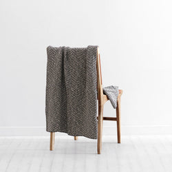 Solano Throw - Onyx