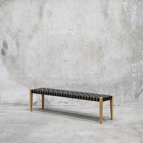 Spencer Bench Seat - Black