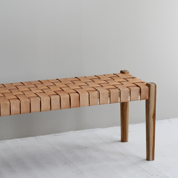 Spencer Bench Seat - Nude
