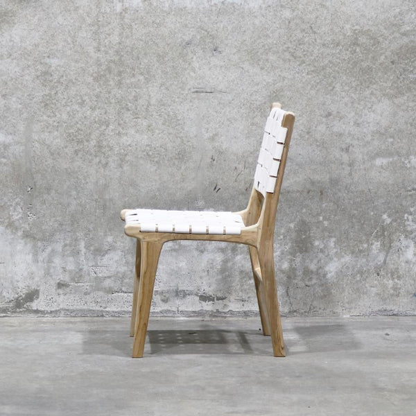 Spencer Dining Chair - White