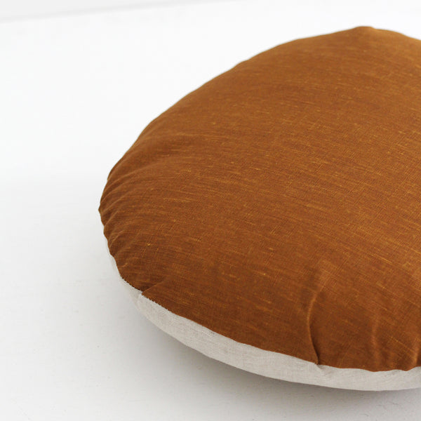 Spot Cushion - Ochre