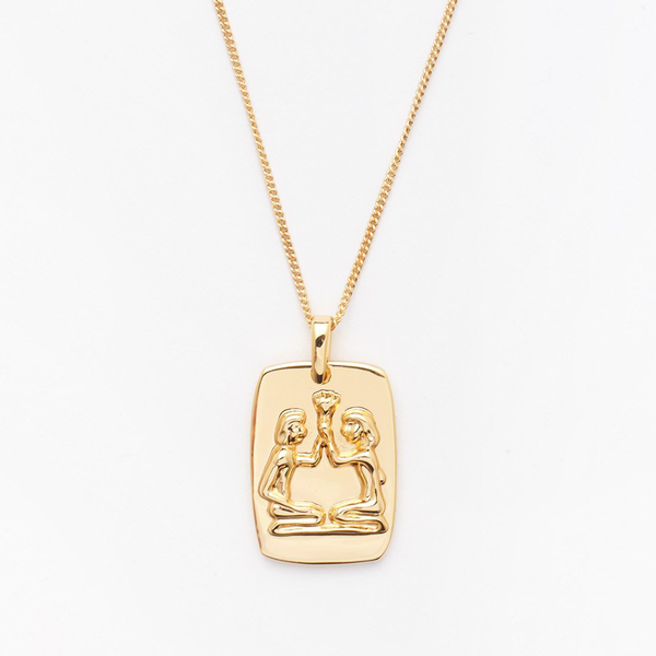 Gemini Tag Necklace