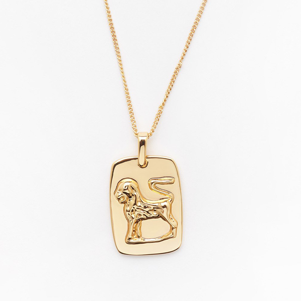 Leo Tag Necklace