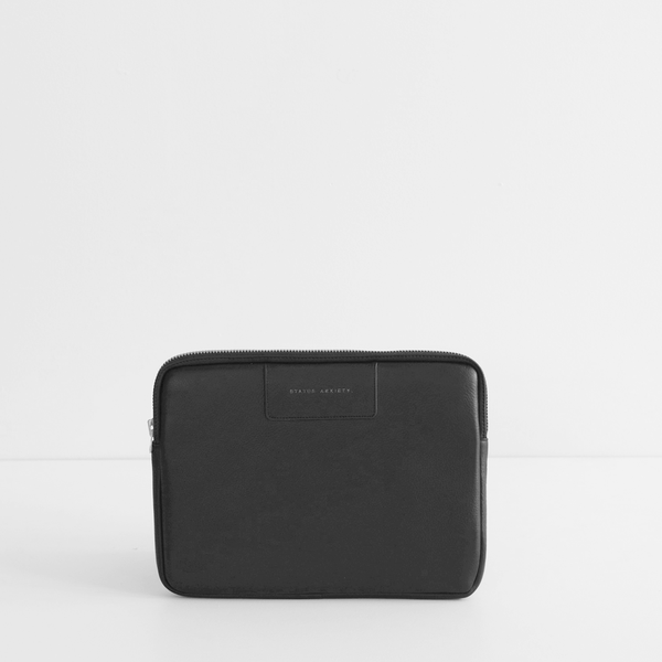 Before I Leave Laptop Case - Black