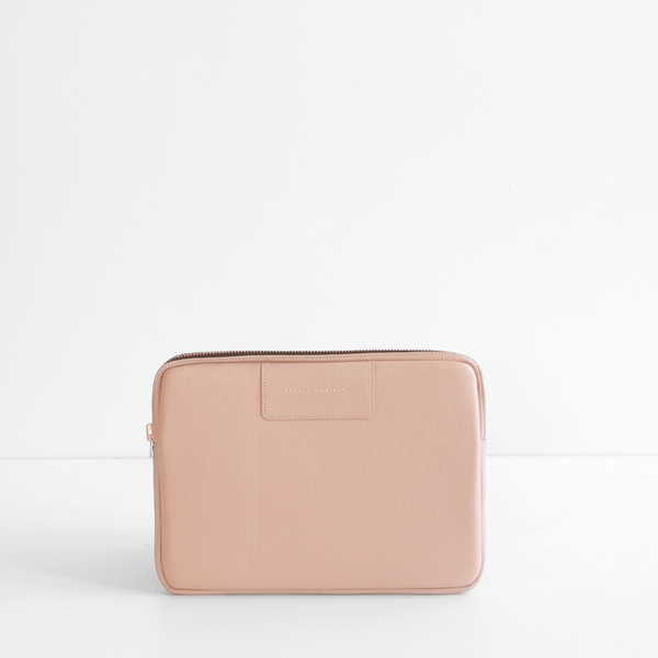 Before I Leave Laptop Case - Dusty Pink