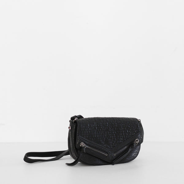Transitory Bag - Black Bubble