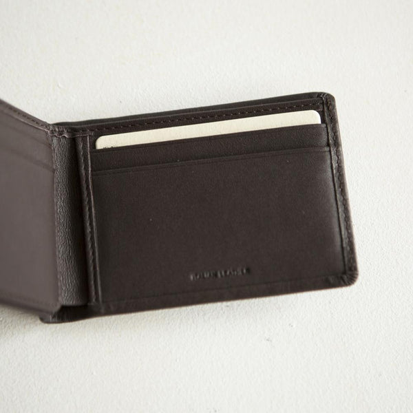 Status Anxiety Jonah Wallet- Chocolate