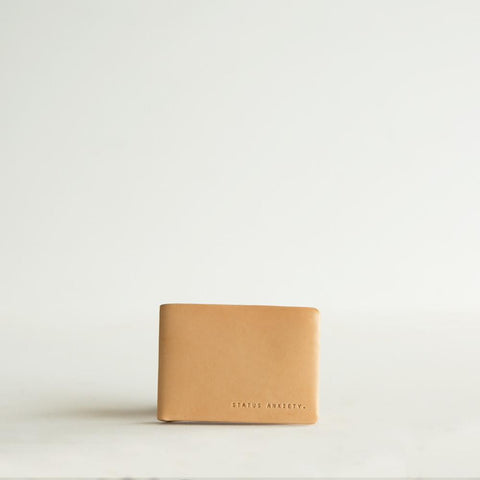 Status Anxiety Jonah Wallet- Tan