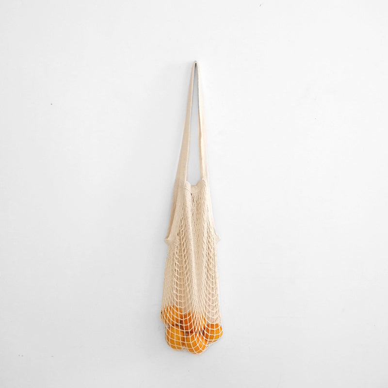String Produce Bag with Long Handle