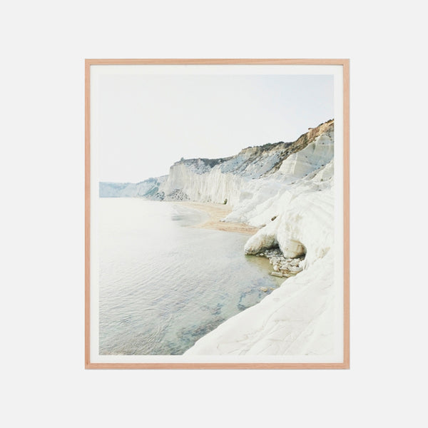 Sunlit Cliffs Framed Art