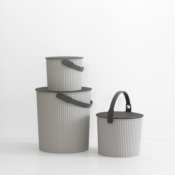 Super Bucket - Small Grey