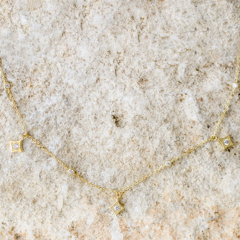 Supernova Choker - Gold