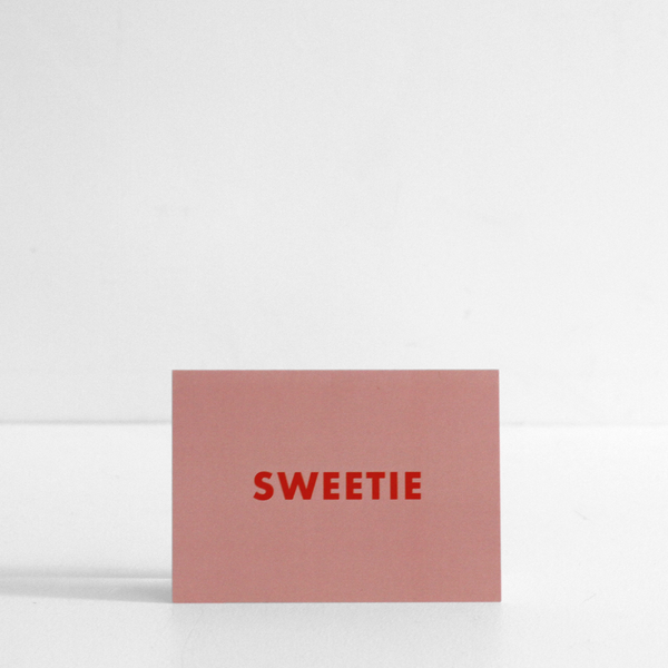 Sweetie Card