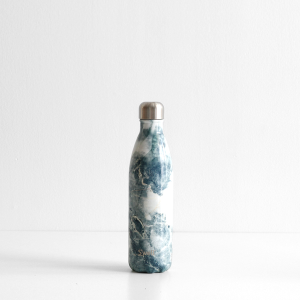S'Well 500ml Stainless Steel Bottle - Blue Granite