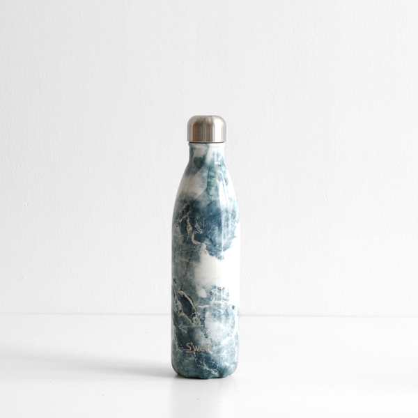S'Well 750ml Stainless Steel Bottle - Blue Granite